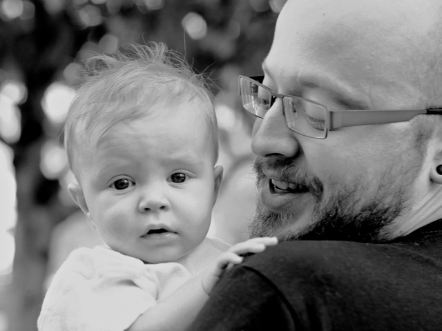 Daddy and Fia taken by our friend Casey Comstock