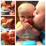 I looooooove daddy kisses!